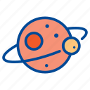 astronomy, moon, planet, science, space, universe icon