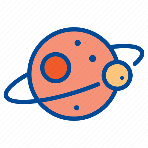 Planet, space, universe, astronomy, moon, science icon - Download on Iconfinder