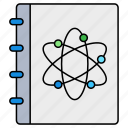 science, chemistry, atom, book