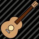 guitar, music, instrument, audio
