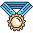 achivement, medal, sport, win, winner icon