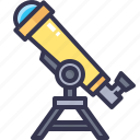 science, spyglass, telescope, vision