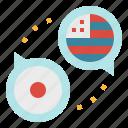 english, flags, japan, languages, translat, translation icon