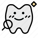 dental, check, dentist, healthcare, tooth, medical icon
