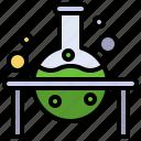 chemistry, education, experiment, flasks, lab, laboratory, test