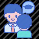 academic, advisor, mentor icon