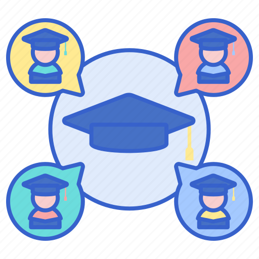 Alumni, graduate, mortar icon - Download on Iconfinder