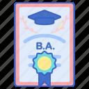 bachelor, certificate, degree