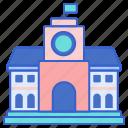 campus, education, university icon