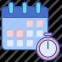 clock, deadlines, time icon