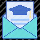 invitation, letter, mail