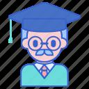 lecturer, professor, university icon