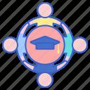 education, student, union icon