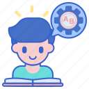 learning, skill, study icon