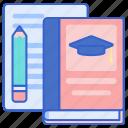homework, student, thesis icon