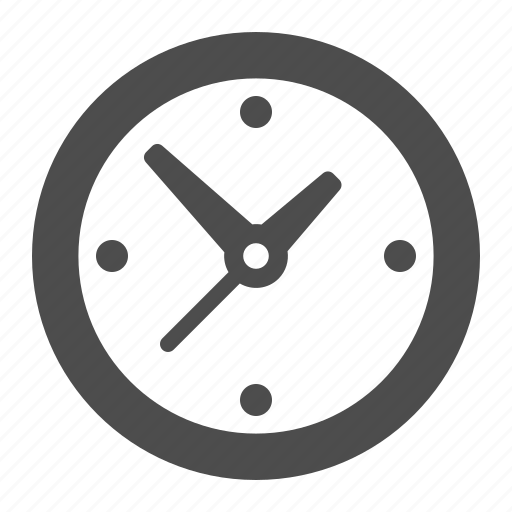 clock, time, timer, wall clock icon
