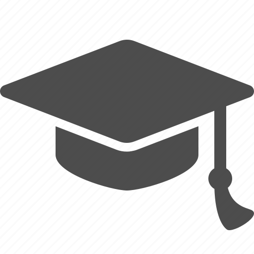 College, education, graduation cap, hat, university icon ...