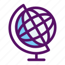 atlas, earth, geography, globe, world icon