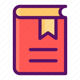 book, lesson, library, novel, read icon
