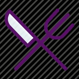 cutlery, eat, fork, restaurant, utensil icon