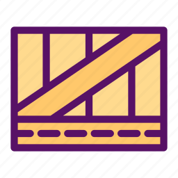 boxing, cargo, flight, package, shipment icon