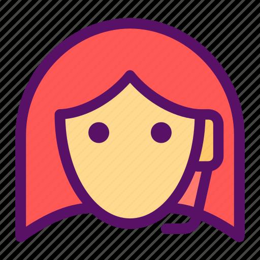 customer, provider, representative, sales, service icon