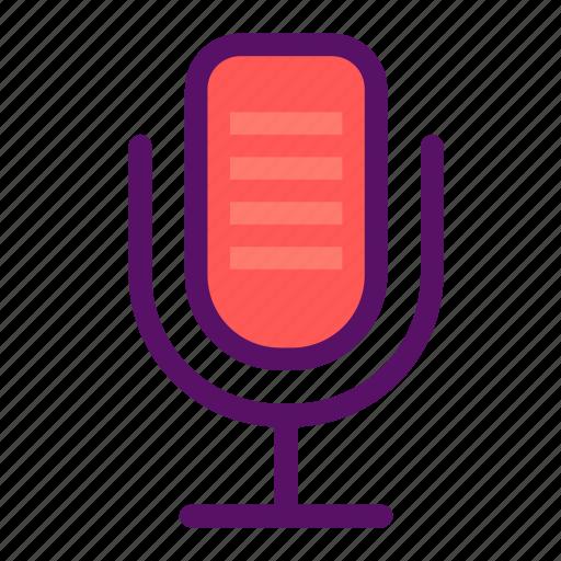 audio, mic, music, speaker, volume icon