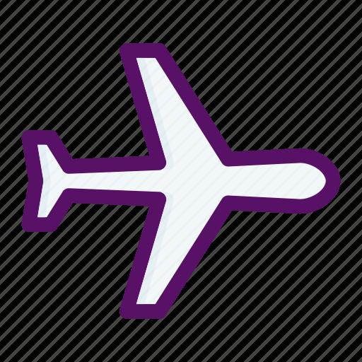 plane, tourism, transport, transportation, vacation icon