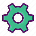 cog, configuration, dashboard, edit, setting icon