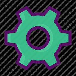 cog, configuration, dashboard, edit, setting icon