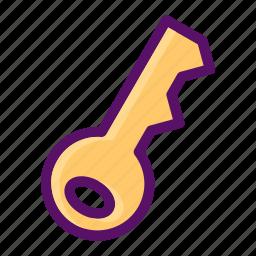 access, key, lock, login, password icon