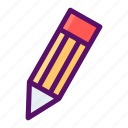 draw, edit, pencil, signature, write icon