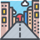 building, city, construction, estate, property, road, urban