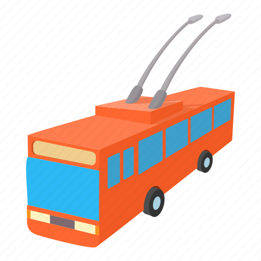 bus, car, traffic, transport, transportation, trolleybus, urban icon