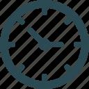 time machine, household clock, wall clock, minute machine timer icon