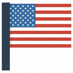 america, american, flag, states, united, us icon
