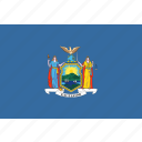 american, flag, new, new york, rectangular, state, york icon