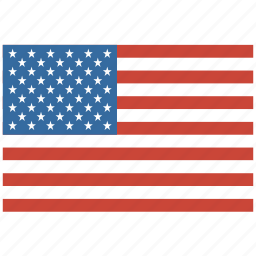 america, american, flag, states, united, us, usa icon