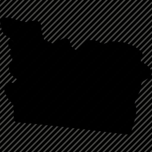 oregon, oregon map, oregon state, us state of oregon icon