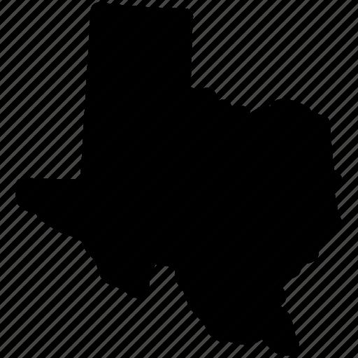 Map Texas Texas State Tx Map Icon