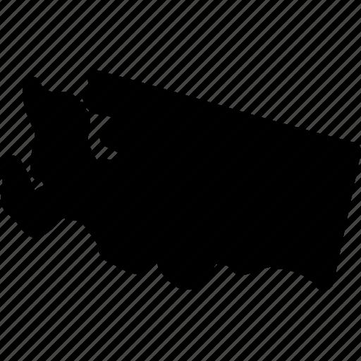 map, washington, washington map, washington state icon