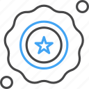 achievement, badge, prize, usa