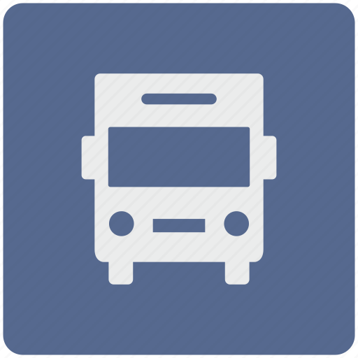 app, bus, station, transport icon