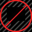 chat, delete, denied, talk icon
