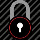 experience, lock, locker, user icon