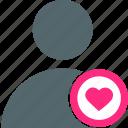 favorite, user, account, avatar, heart, like, profile
