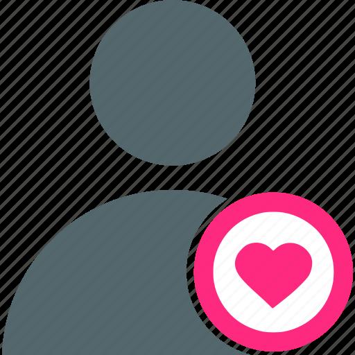 account, avatar, favorite, heart, like, profile, user icon