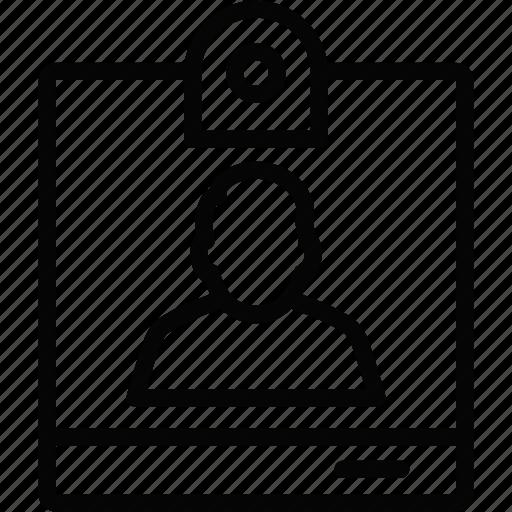 id card, male, man, person, profile, user icon