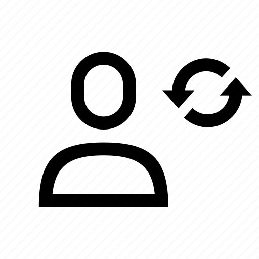 pending, profile, refresh, update, user icon