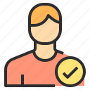 avatar, male, people, profile, safe, user icon